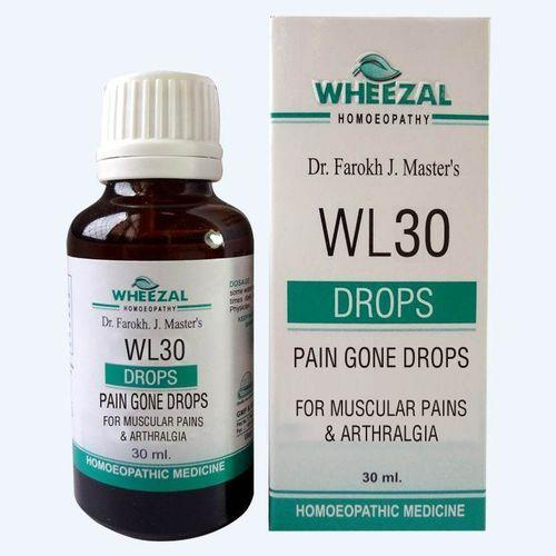 Wheezal WL 30 Homeopathic Pain Gone Drops
