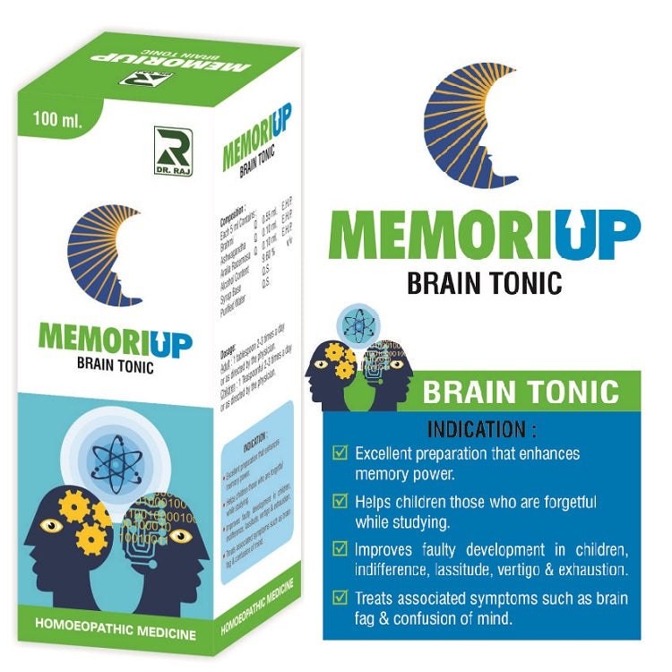 Dr Raj Memoriup Brain Tonic, Enhances memory power