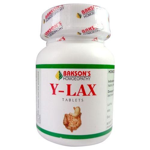 Baksons Y-lax Tablets for proper bowel movement