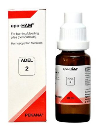 Adel 2 apo-HAM drops - Homeopathic remedy for piles