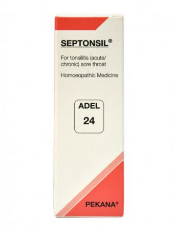 Adel 24 Septonsil drops for Acute and Chronic Tonsillitis, Sore Throat