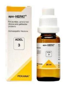 Adel 3 apo-HEPAT drops  for symptoms of liver disease