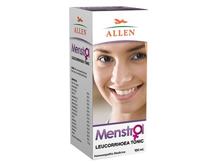 Allen Menstrol Leucorrhoea Tonic for Vaginal discharge