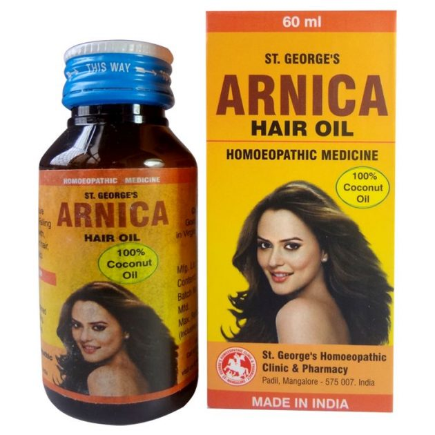 St George Arnica Hair Oil No 1  for Dry scalp, Premature greying