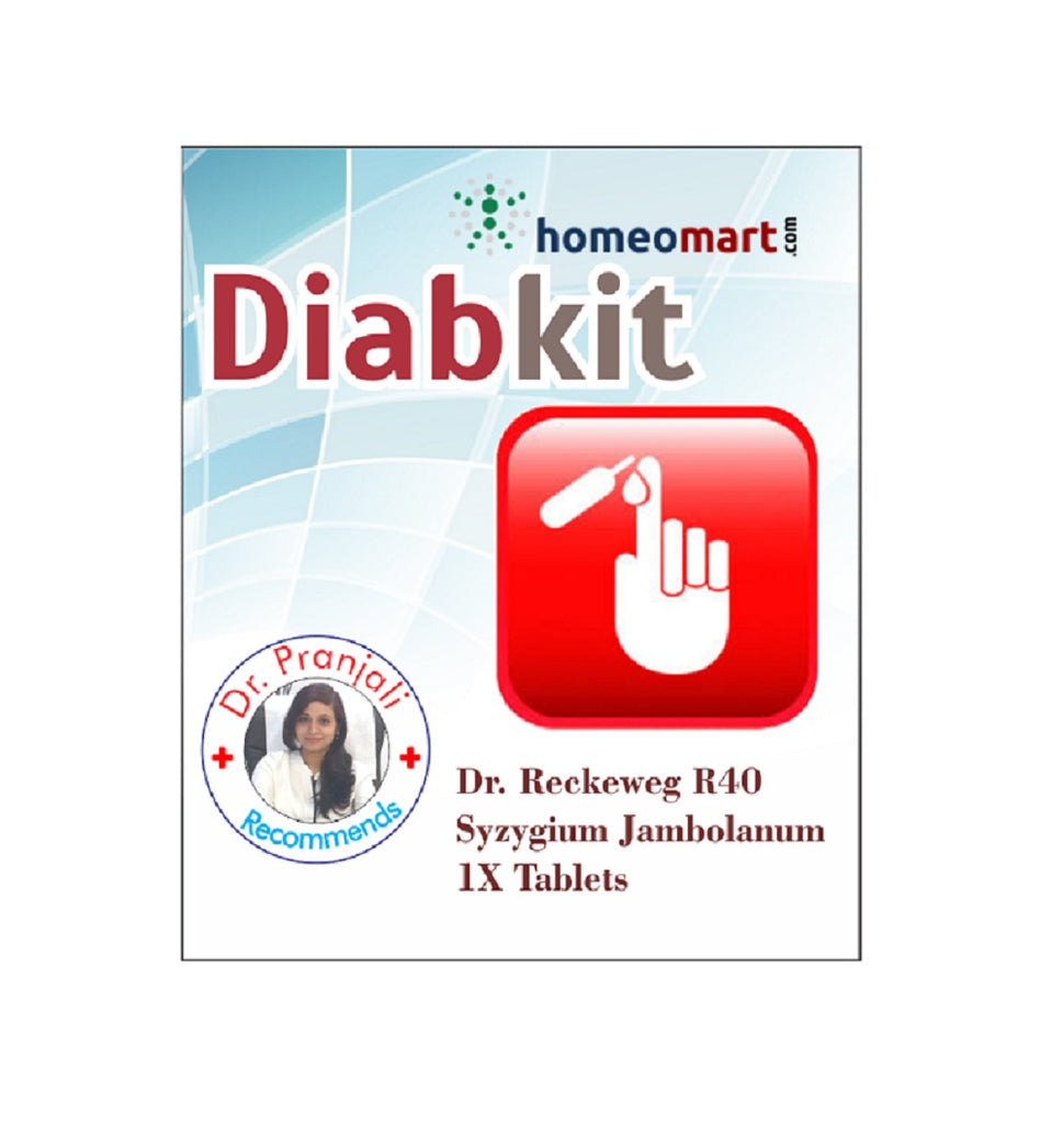 Diabkit homeopathy diabetes medicine with R40 Syzygium Jamb