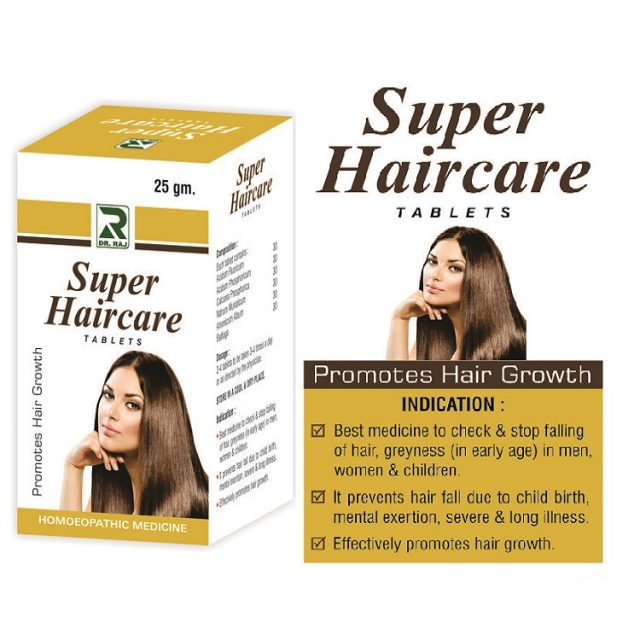 Dr Raj Super Haircare Tablets for Hairloss, grey hair
