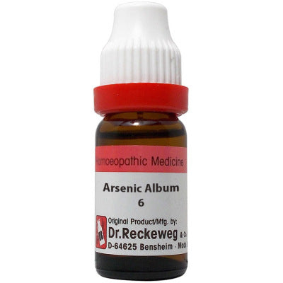 Dr Reckeweg Arsenicum Album Dilution 6C, 30C, 200C, 1M, 10M