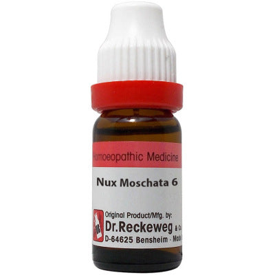 Dr Reckeweg Nux Moschata  Dilution 6C, 30C, 200C, 1M, 10M