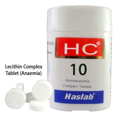 Haslab HC-10 Lecithin Complex Tablet for Anaemia-Pack of 3