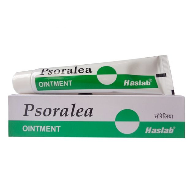 Haslab Psoralea Ointment for leucoderma, Psoriasis, White patches Buy 2 Get 1 Free Offer