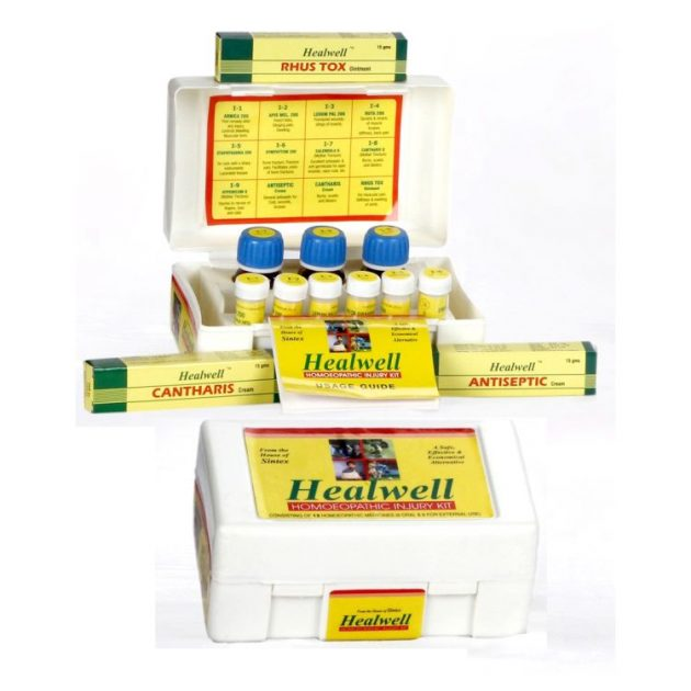 Healwell Homeopathic Injury Kit