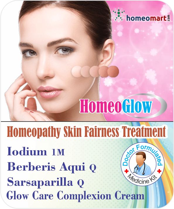 Homeopathy medicines for fair skin
