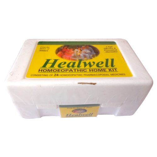 Healwell Homeopathic Home Kit