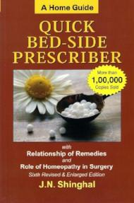Homoeopathic Quick Bed Side Prescriber (A Home Guide) - J.N. Shinghal