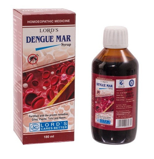 Lords Dengue Mar Syrup, Homeopathy Dengue Fever Medicine