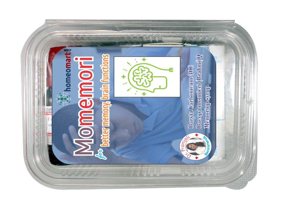 Homeopathy memory enhancer medicines with bacopa (Brahmi)