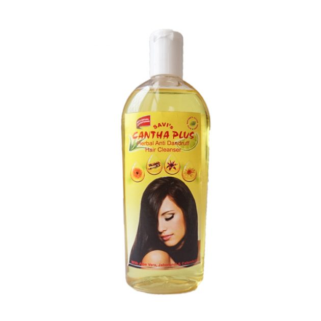 Savi Cantha Plus Herbal Anti-Dandruff Cleanser (shampoo)