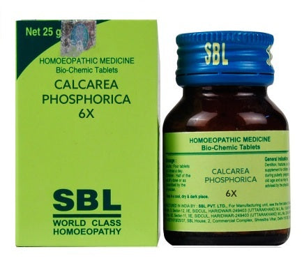 SBL Biochemic Tablets Calcarea Phosphoricum 3x, 6x, 12x, 30x, 200x