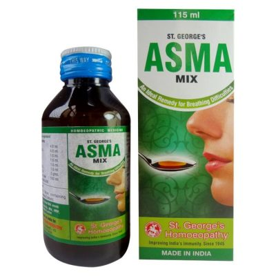 St George Asma Mix - An Ideal Remedy for Breathing Difficulties-Pack of 3