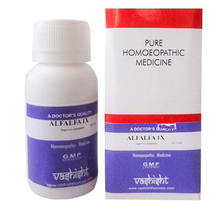 Vashisht Alfalfa 1X Mother Tincture Tablets