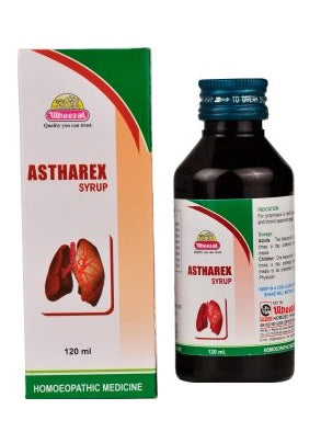 Wheezal Astharex Syrup - Homeopathic Asthma Medicine