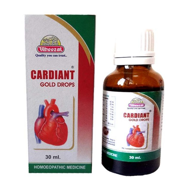 Wheezal Cardiant Gold Drops - Complete Cardiac Care