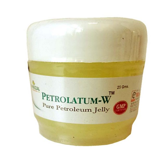 Wheezal Petrolatum-W Petroleum Jelly for soft supple skin -Pack of 3
