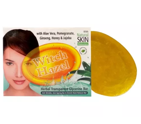 Witch Hazel Herbal Transparent Glycerine Bar