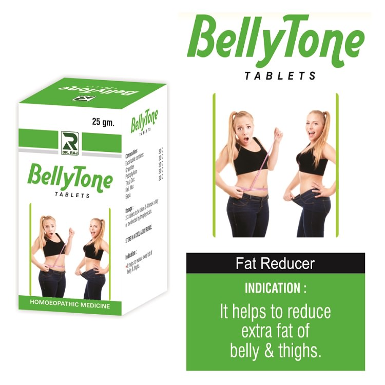Dr.Raj Bellytone Tablets for Belly and Thigh Fat reduction
