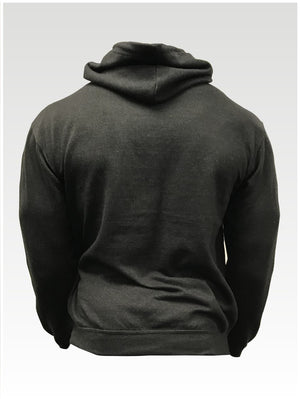 Men's college Hoodie - Black Smoke