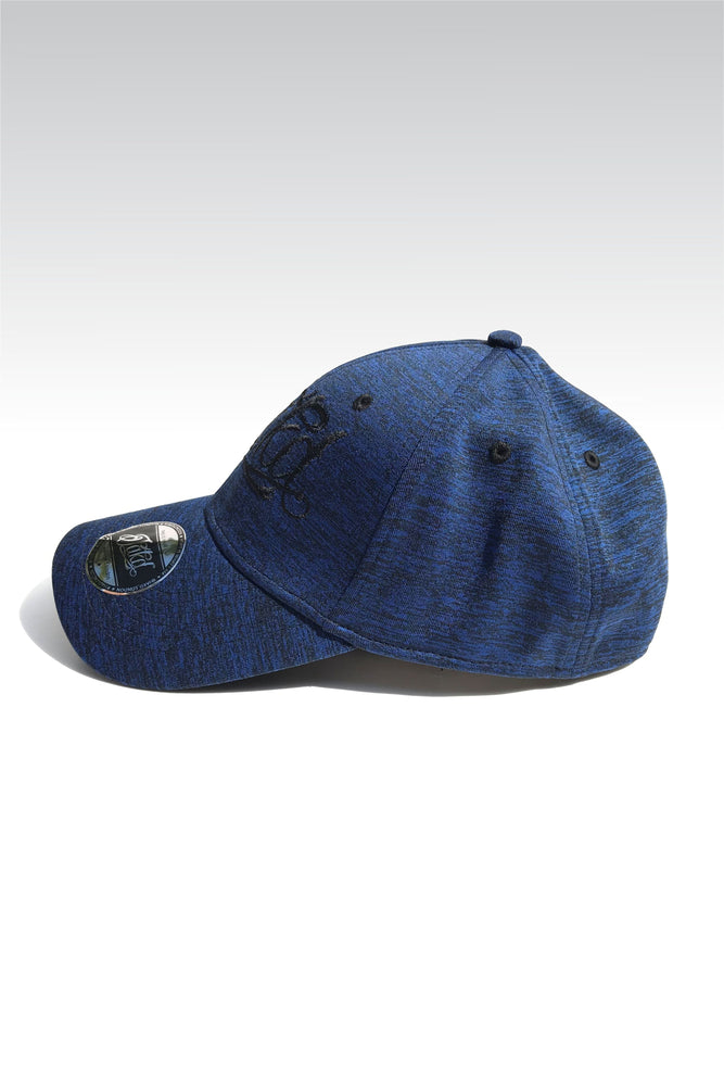 Jakd Cap - Fleck Stretch fit - Blue/Black