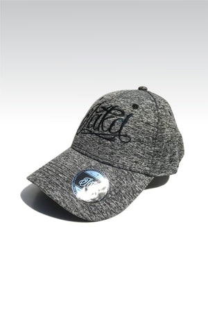 Jakd Cap - Fleck Stretch fit - Grey/Black