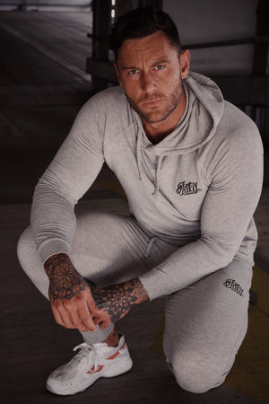 Jakd Tracksuit-Light Grey/Black