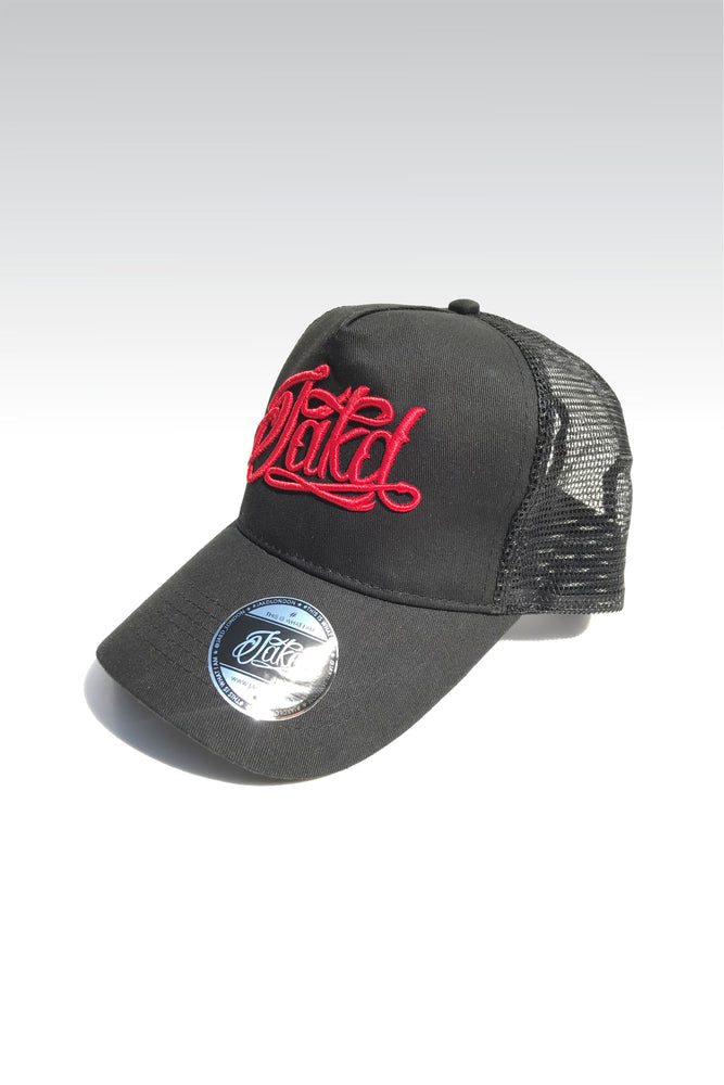 Jakd Cap - Trucker - Black/Red