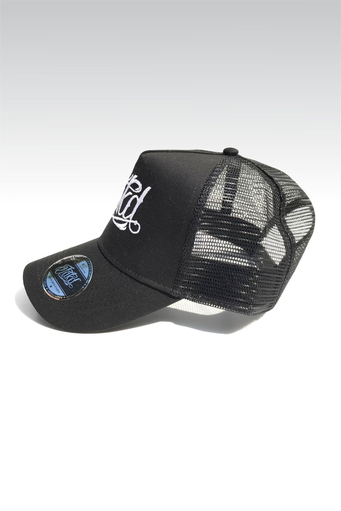 Jakd Cap - Trucker - Black/White