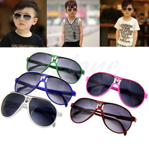Cute Retail New Fashion Child Cool Sun Glasses Children Boys Girls Kids Plastic Frame Sunglasses Goggles Eyeglasses oculos-448E
