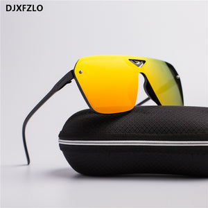 New Goggle Plastic Male Driving Sports Men Dazzling Sunglasses Men Brand Designer Trendy Retro Sun Glasses oculos de sol