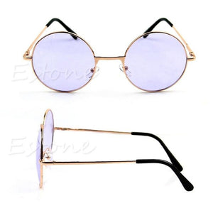 Hot Vintage Round lens Sunglasses Men/women Polarized Gafas Oculos Retro Coating Sun Glasses Round A39135