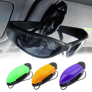 1pcs  Car Vehicle Accessory Sun Visor Sunglasses Eye Glasses Card Pen Holder Clip Wholesale Drop Shipping