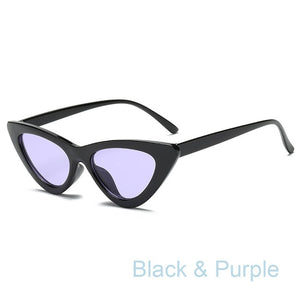 2018 cateye women sunglasses high quality fashion sun glasses for women small sunglasses lady glasses designer brand luxury