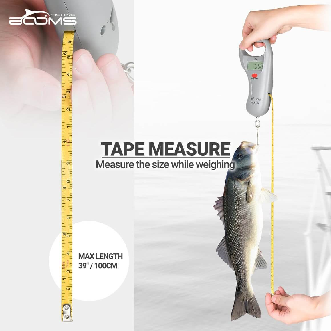 BoomsFishing Fish Scale Digital Weight C02