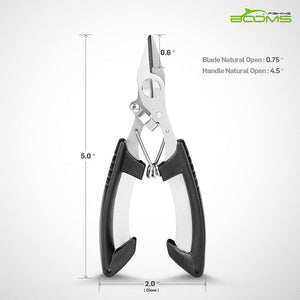 S02 Braided Line Cutters Heavy-Duty Leader Line Shears