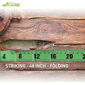 Booms Fishing RL1 Fish Measuring Tape 48 in