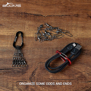 Booms Fishing CC1 Multi-Use Carabiner Clips