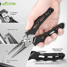 Load image into Gallery viewer, F07 Black Crocodile Pliers