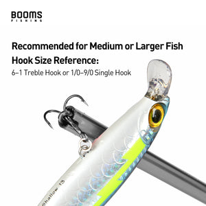 Booms Fishing R2 Hook Remover Squeeze-Out Fish Hook Tools