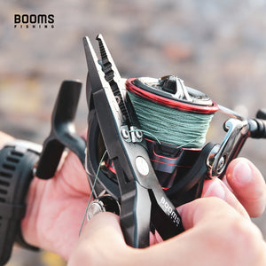 Booms Fishing X03 Fishing Pliers with Sheath and Lanyard