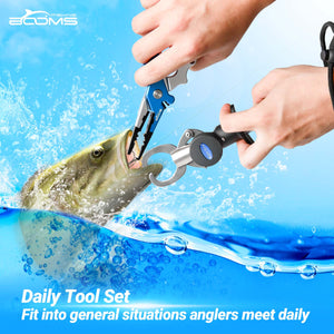 TC1 Fishing Pliers & Fish Gripper Daily Tool Set