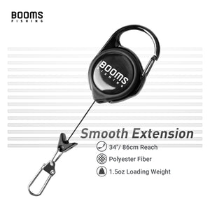 Booms Fishing FLS Leader Straightener and Line Cleaner with Fly Fishing Zinger - Booms Fishing Offical