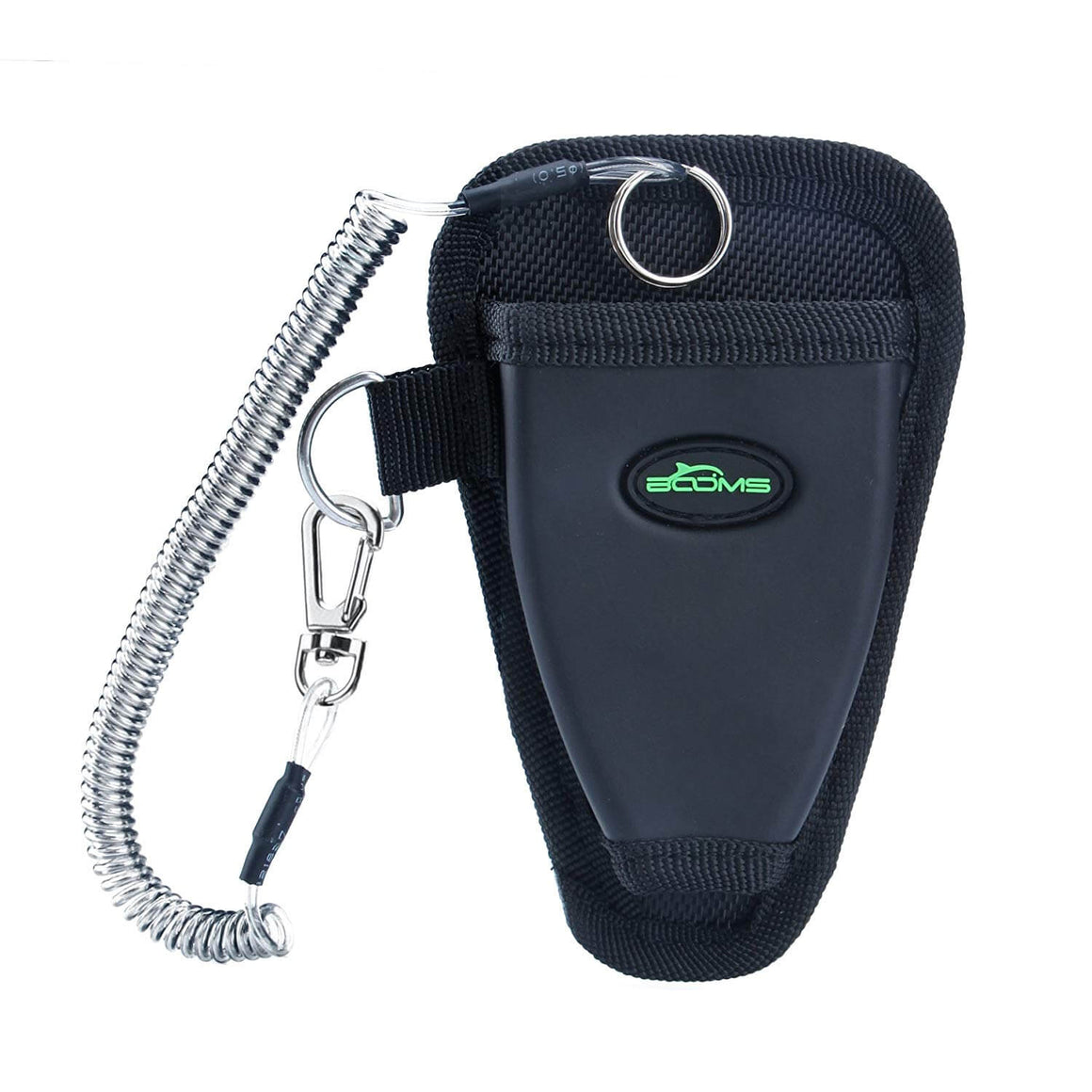Booms Fishing P01 Fishing Pliers Sheath Suitable Comes with Coiled Lanyard - Booms Fishing Offical